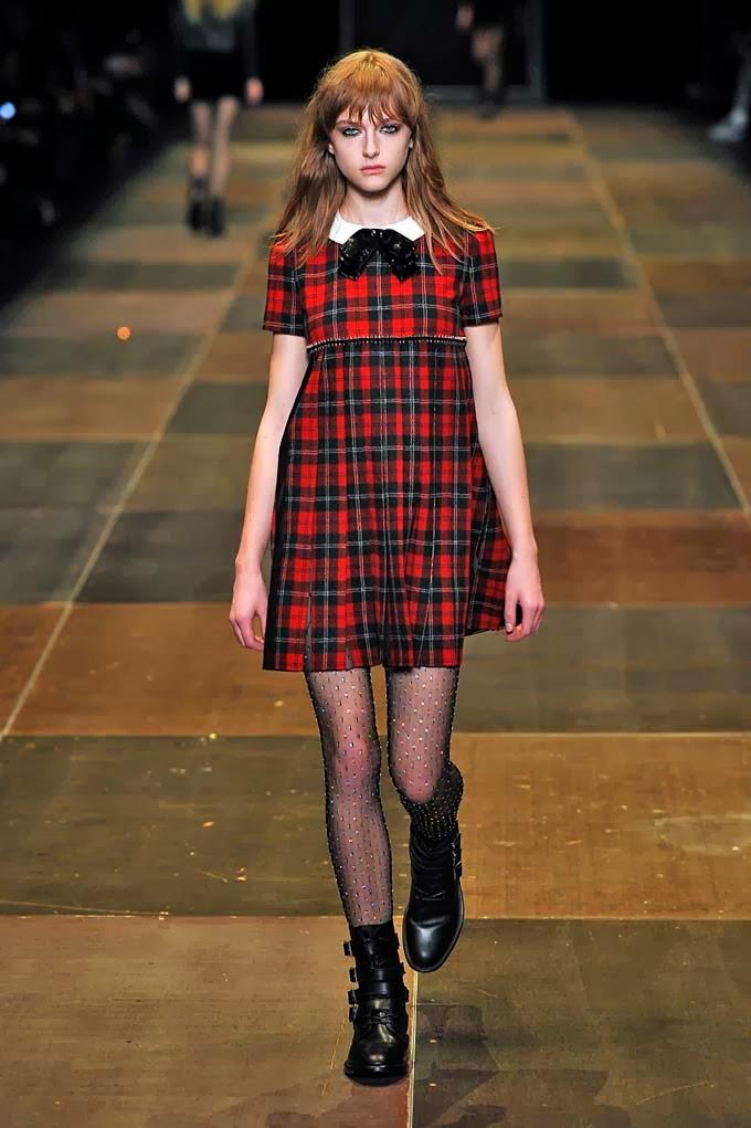 Платья шотландская клетка
