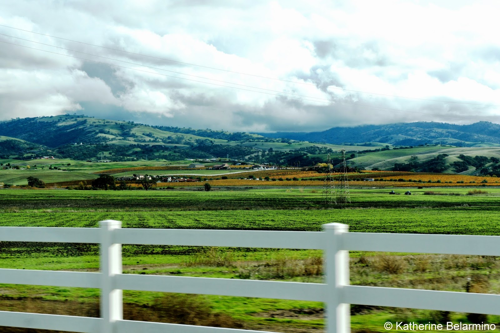 Rolling Hills of Livermore Wine Country Northern California