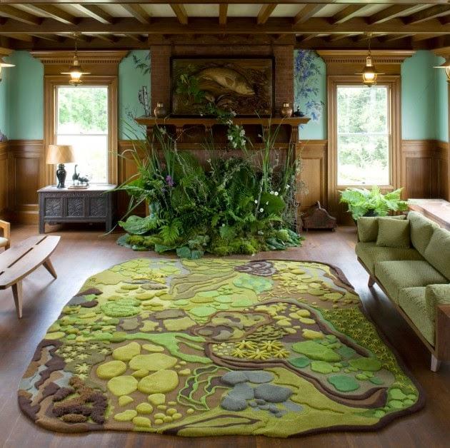 LIEBLINGSSTCKE LIEBLINGSSTCK Teppich Forest Floor