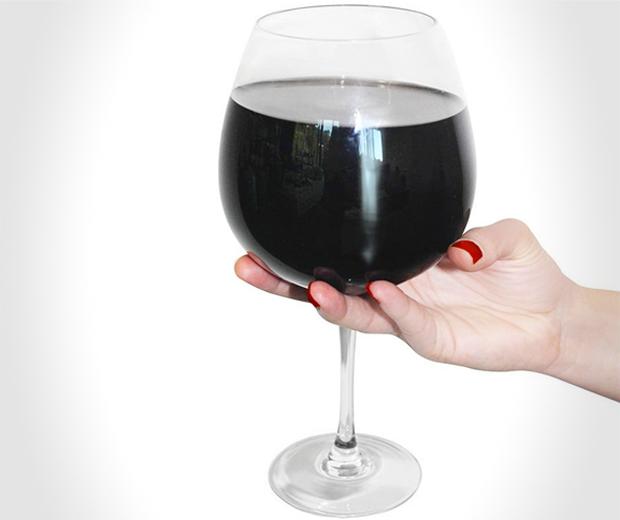 Full bottle XL Wine Glass