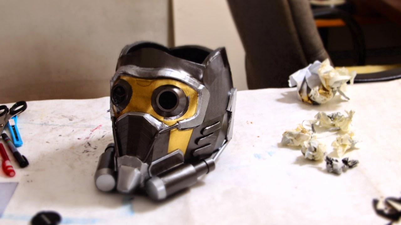 Célèbre Dali-Lomo: Guardians Of The Galaxy: Star-Lord Costume Mask DIY (2014) YA06