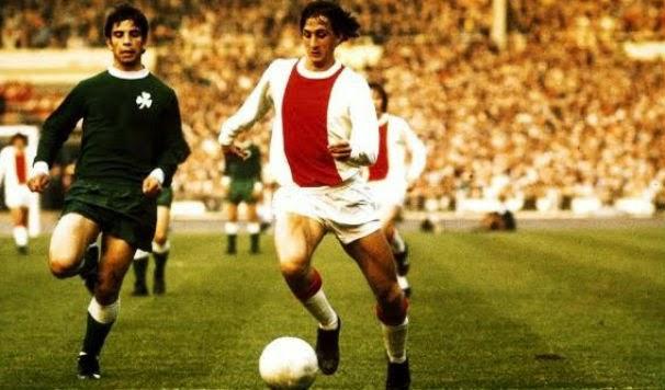 1971 European Cup Final - Ajax v Panathinaikos - Johan Cruyff