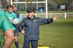 Bernardo Urdaneta, entrenador de los Jaguares