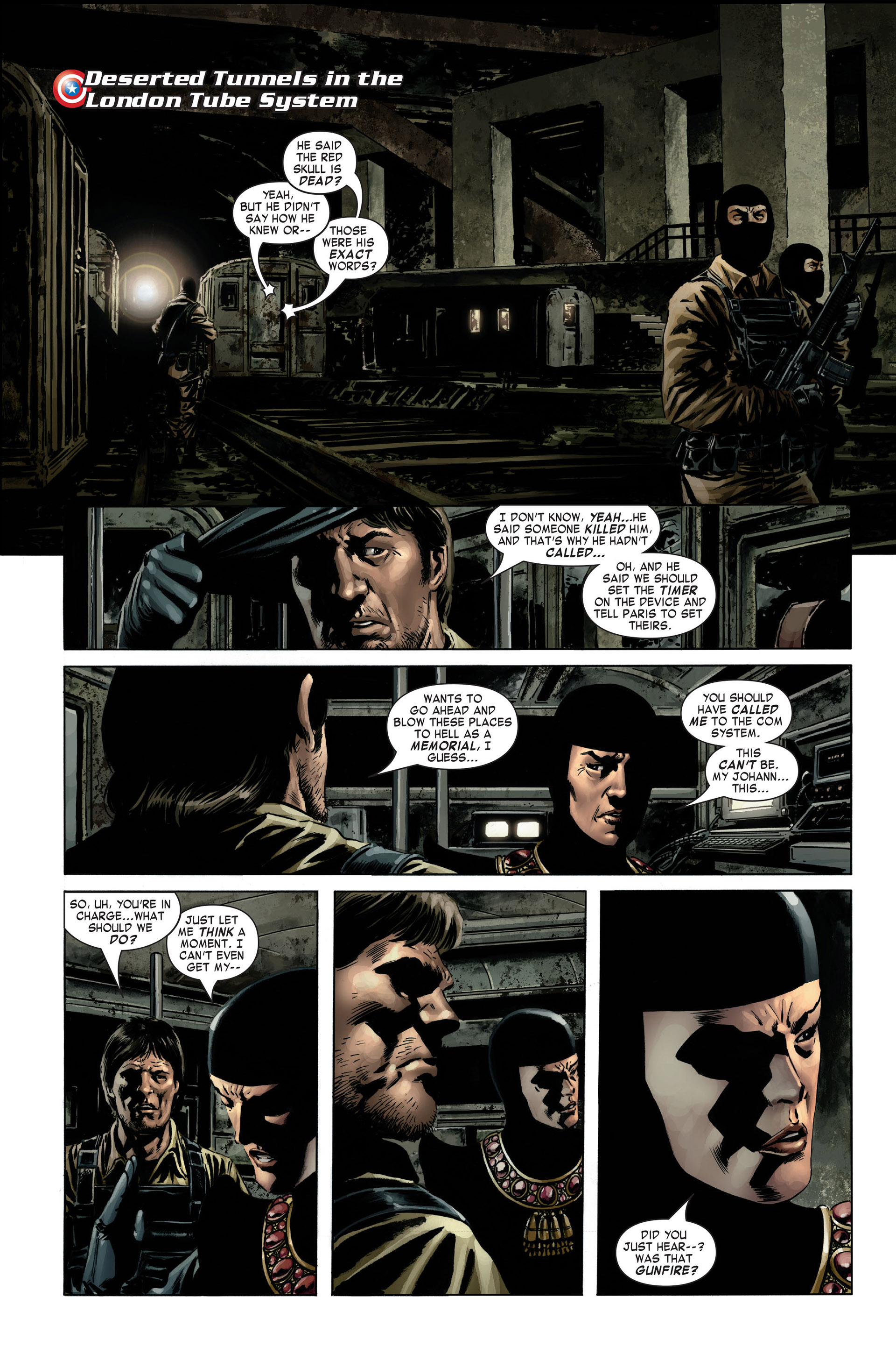 Captain America (2005) Issue #3 #3 - English 3