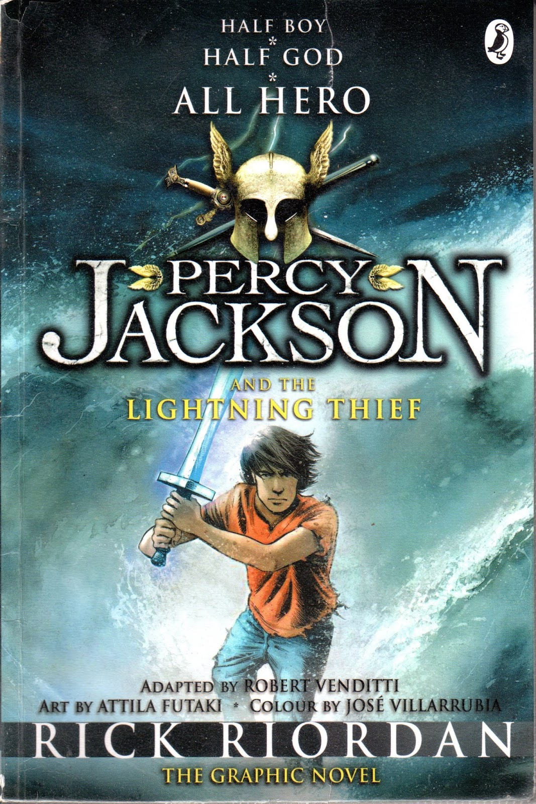 Elementaread REVIEW 39 Percy Jackson And The Lightning Thief 39 Graphic