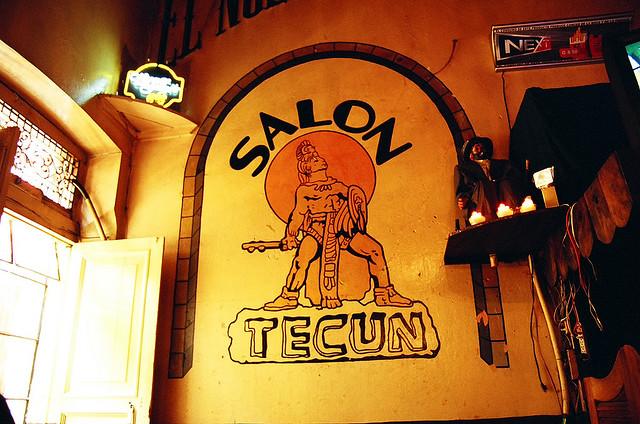 Salón Bar Tecún Quetzaltenango Pasaje Enriquez Xela