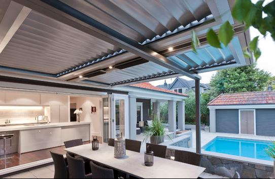 Fotos de Techos cubiertas de aluminio para terrazas