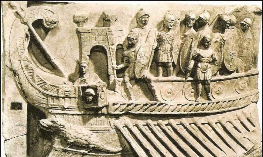 Derecho de prenda y navio romano