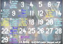 Calendário HP - Julho