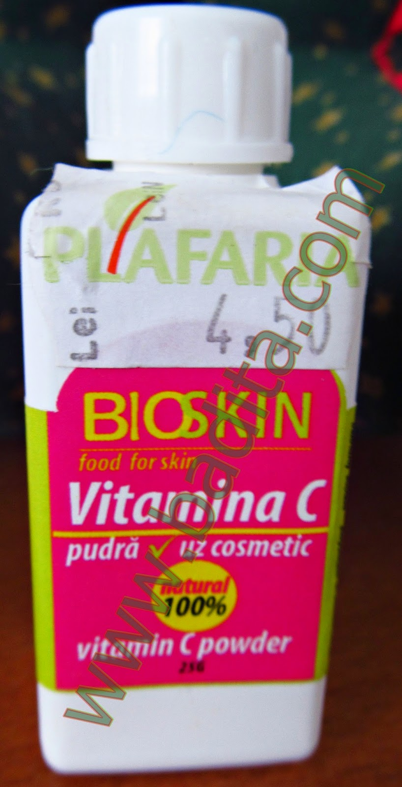 Review Vitamina C BioSkin cu efect antiage si antioxidant - masca revitalizanta
