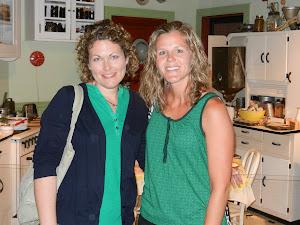 Kristin and Sarah