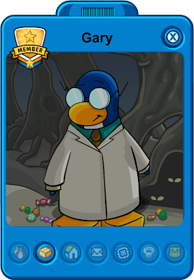 Club Penguin Gary Tracker