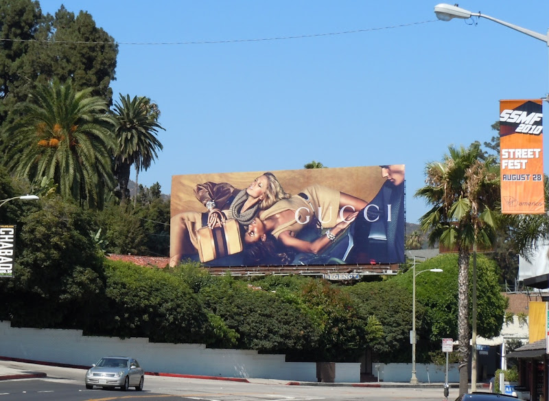 Gucci Aug 2010 billboard