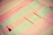 """Pochettes aiguilles a tricoter et crochets """"Pink"""""""