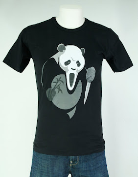 CAMISETA SCARY MOVIE PANDA