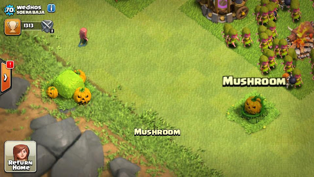Super Cell gulirkan update Clash Of Clans dengan tema Holloween