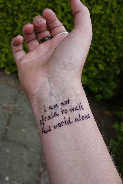 Awesome Tattoo Quotes For Girl | Cute Quotes | 469 x 700 jpeg 47kB