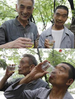 Komunitas Peminum Urin di Tiongkok