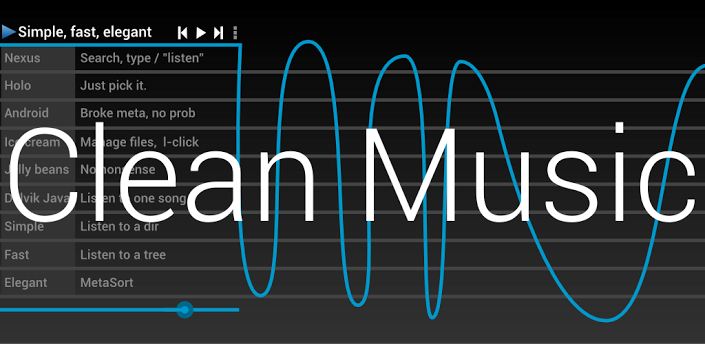 Android apps apk download clean music player 3 1 0 apk for Music to clean to