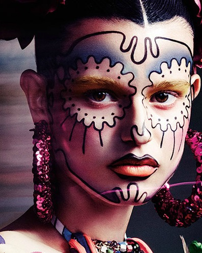 Halloween Makeup Tutorials from MAC Cosmetics   My Little Fashion Blog