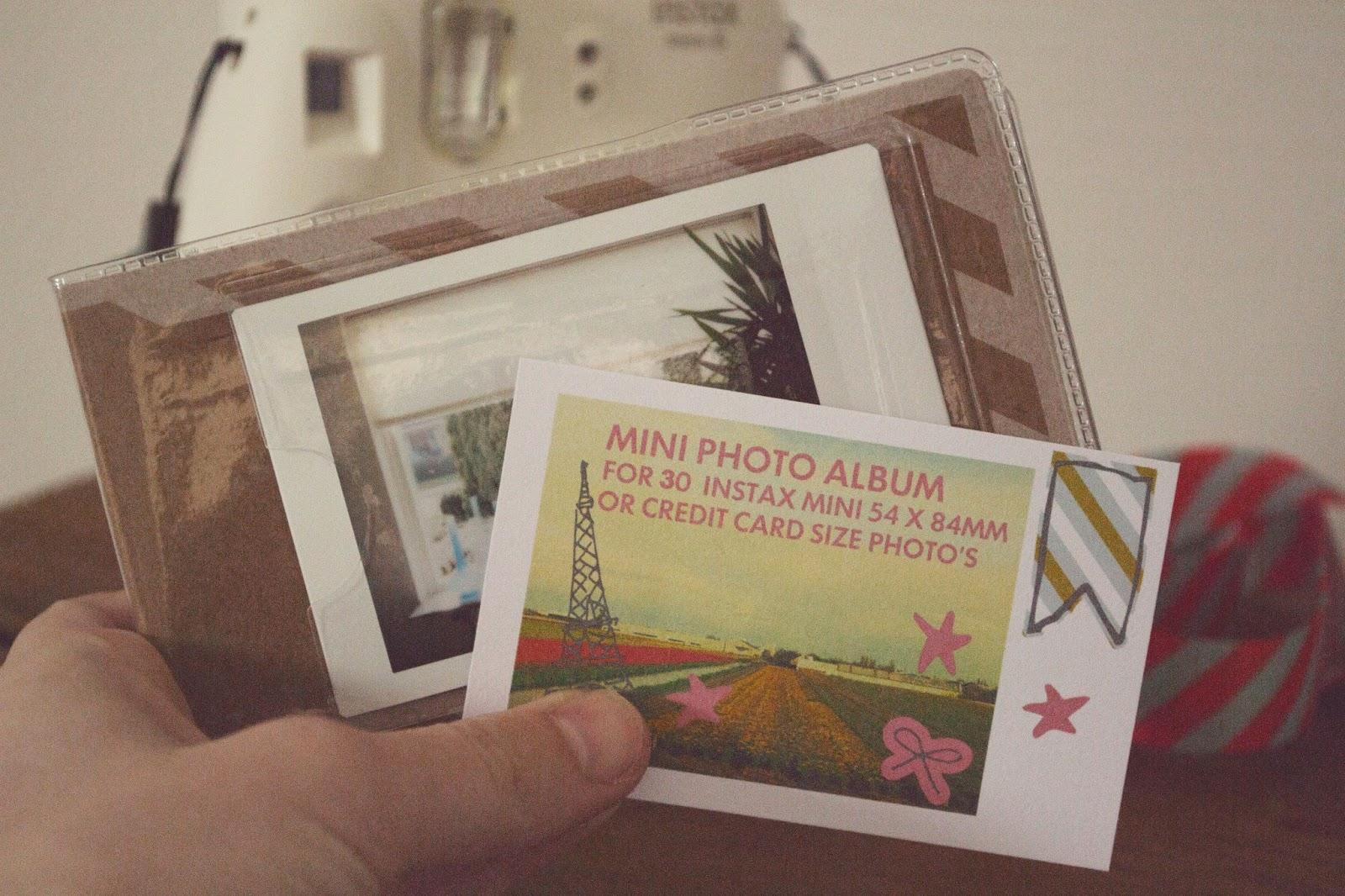 Fuji Film Instax Mini 8 Album