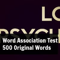 Word Association Test 500 Original Words