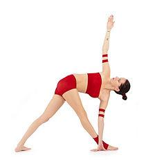 Parivrtta-Trikonasana Yoga Asana