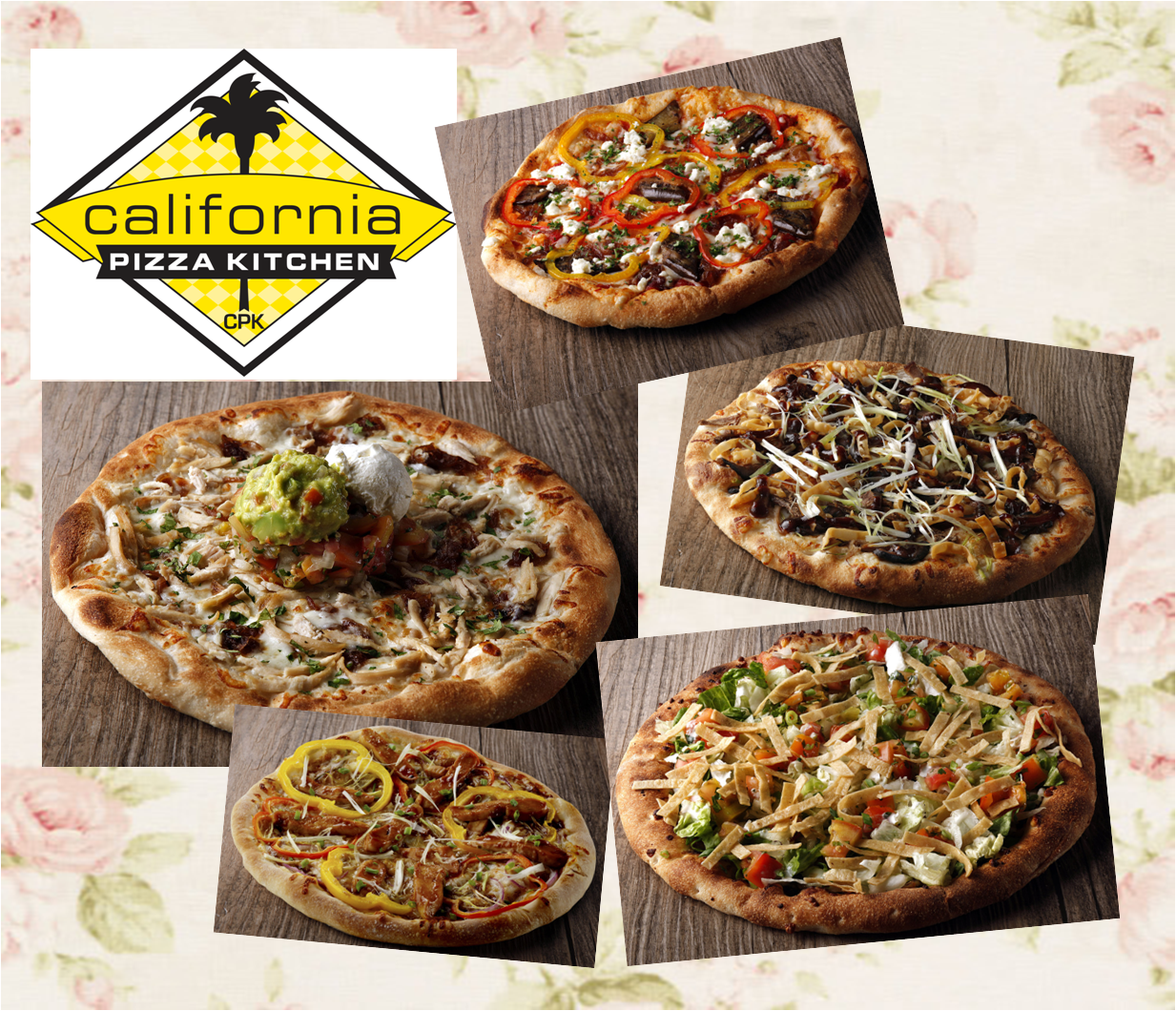 GASTRONOMY by Joy: Vintage Pizzas Rule in California Pizza Kitchen