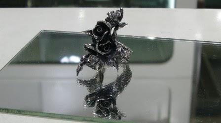 銀八重櫻 - 薔薇