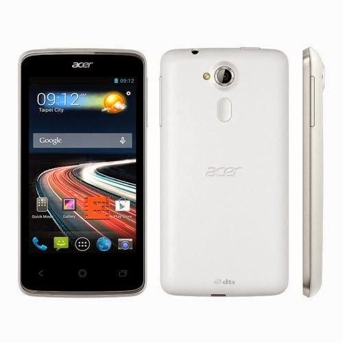 Smartphone Double SIM Acer Z4 Duo Liquid Blanc