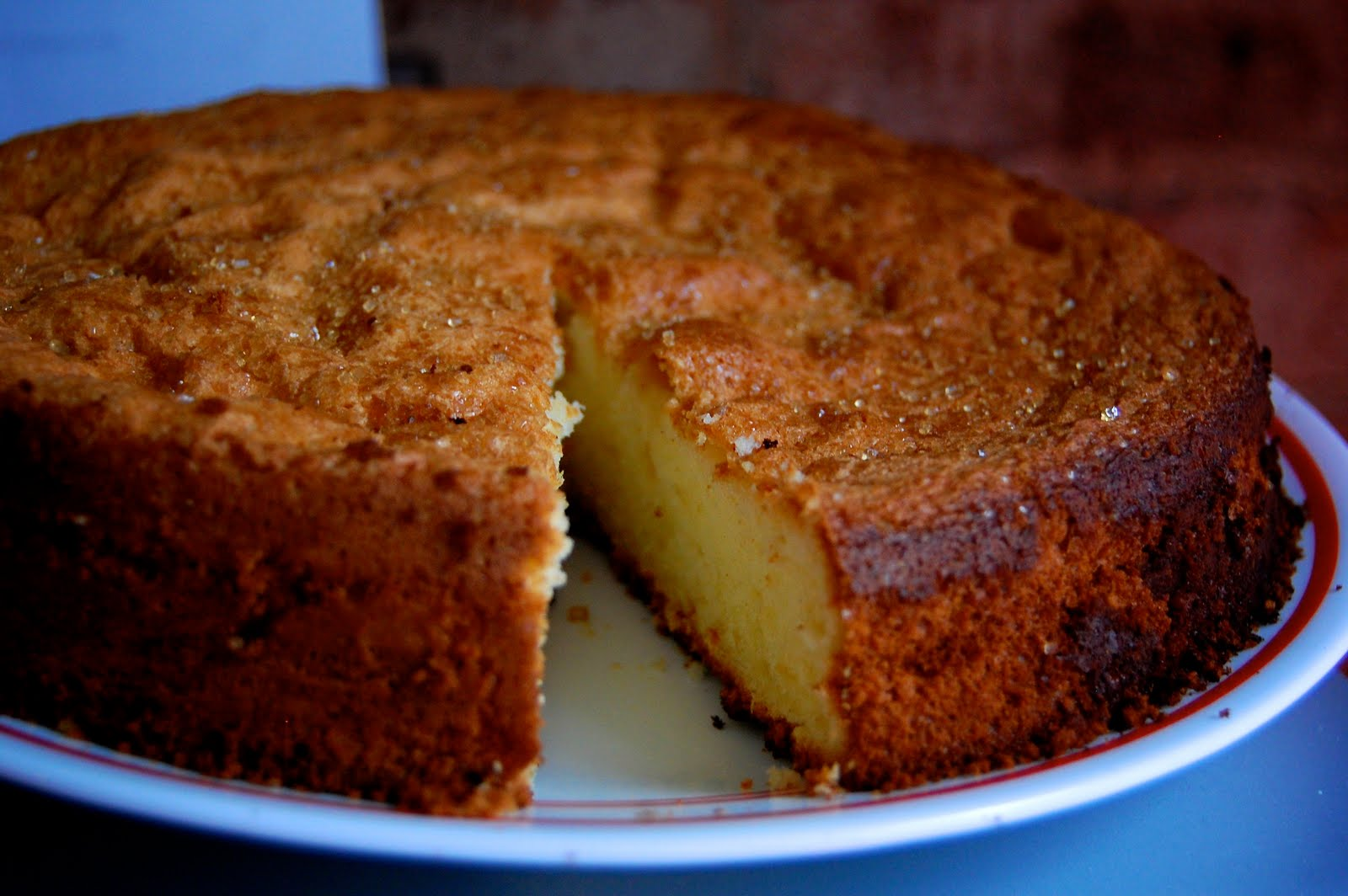 Lemon Olive-Oil Cake Recipe — Dishmaps
