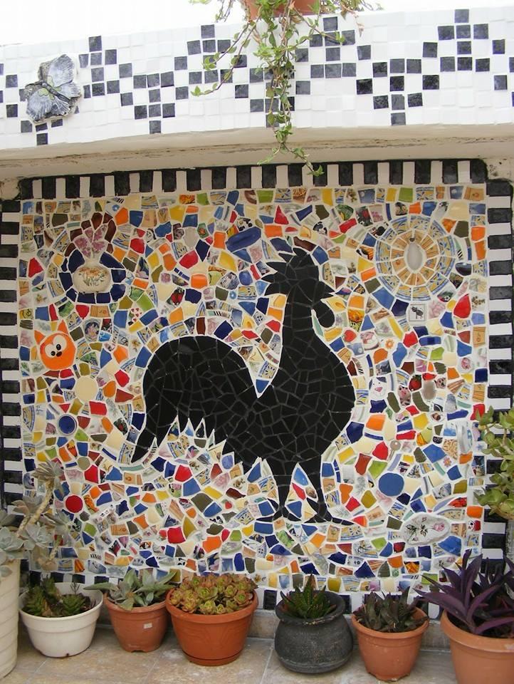 Как сделать мозаику своими руками в домашних 220