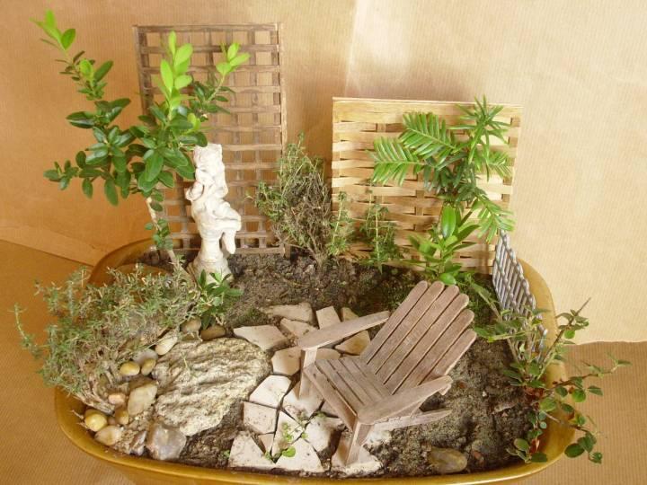 Jicolin minis jardin miniature for Deco jardin miniature