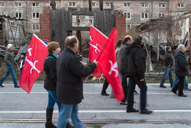 Manifestazione Movimento Trieste Libera Porto Vecchio