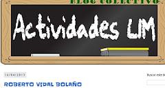 Actividade Lim Roberto Vidal Bolaño