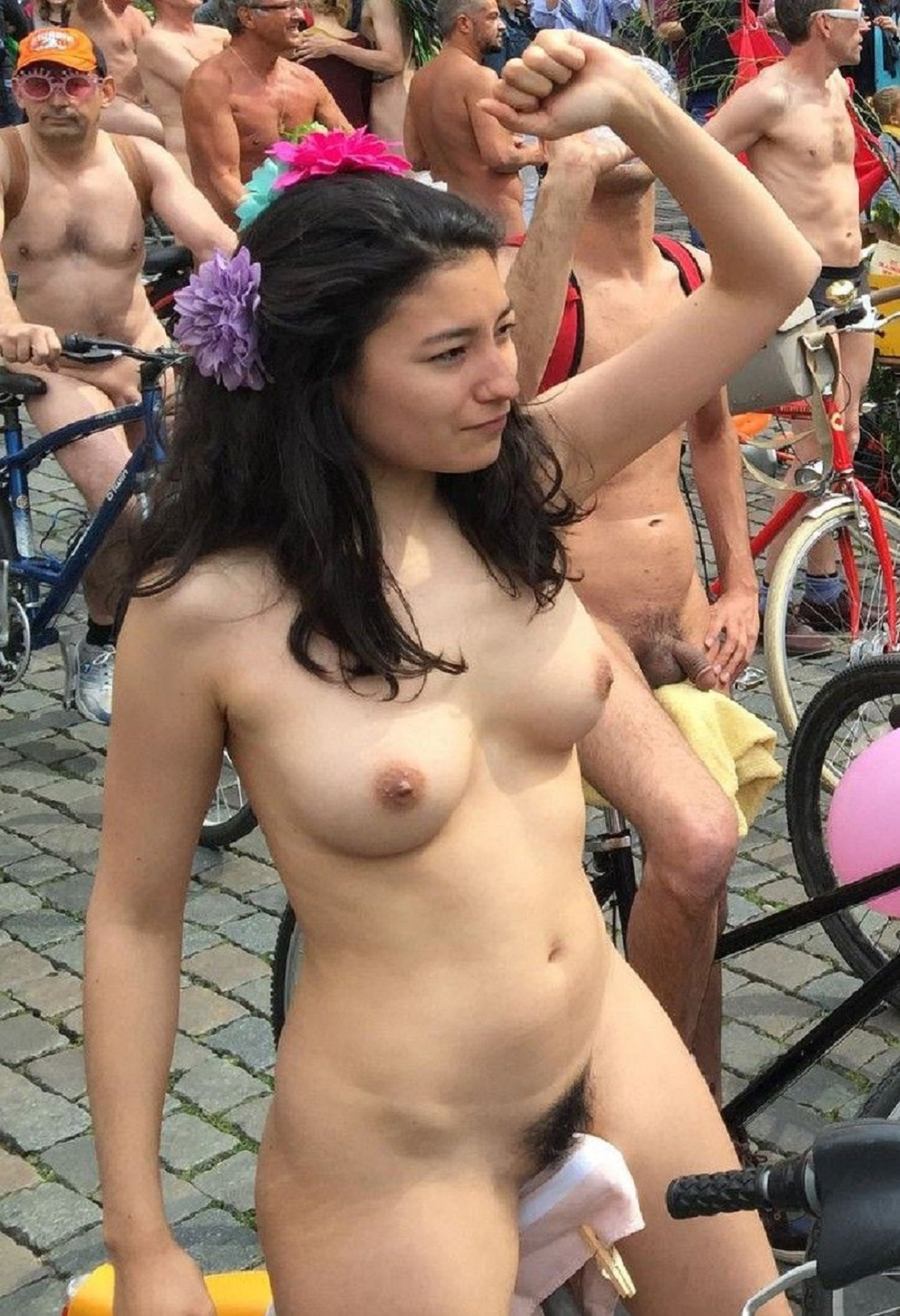 Women naked in the world consider