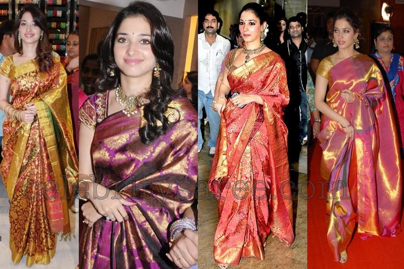 Tamannas Silk Sarees Trend