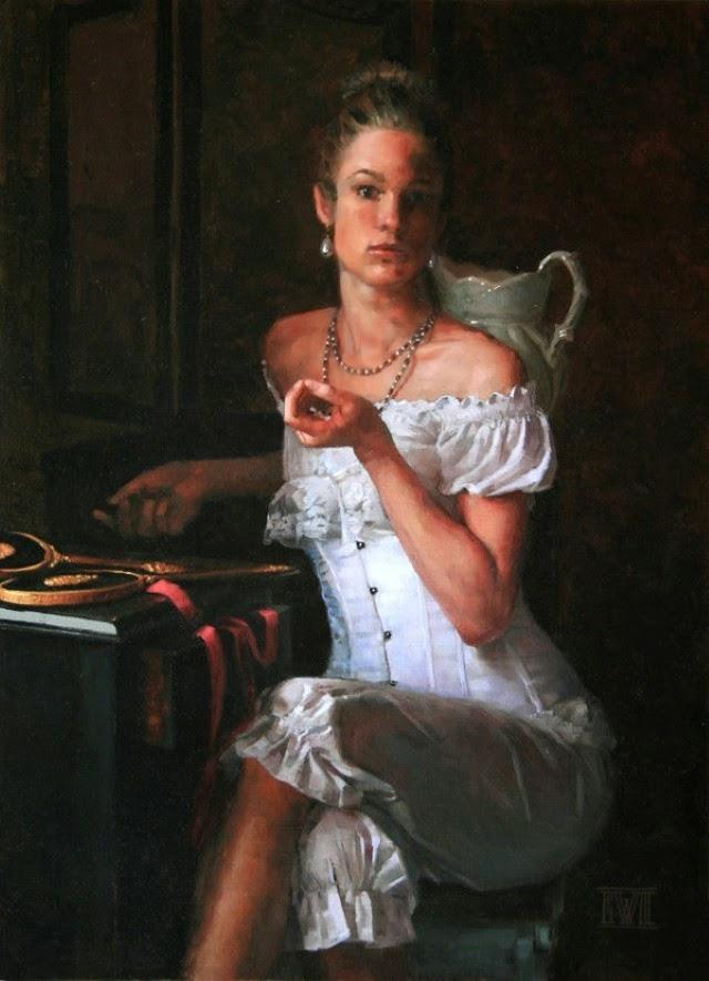 Масляная живопись. Ernest Vincent Wood III