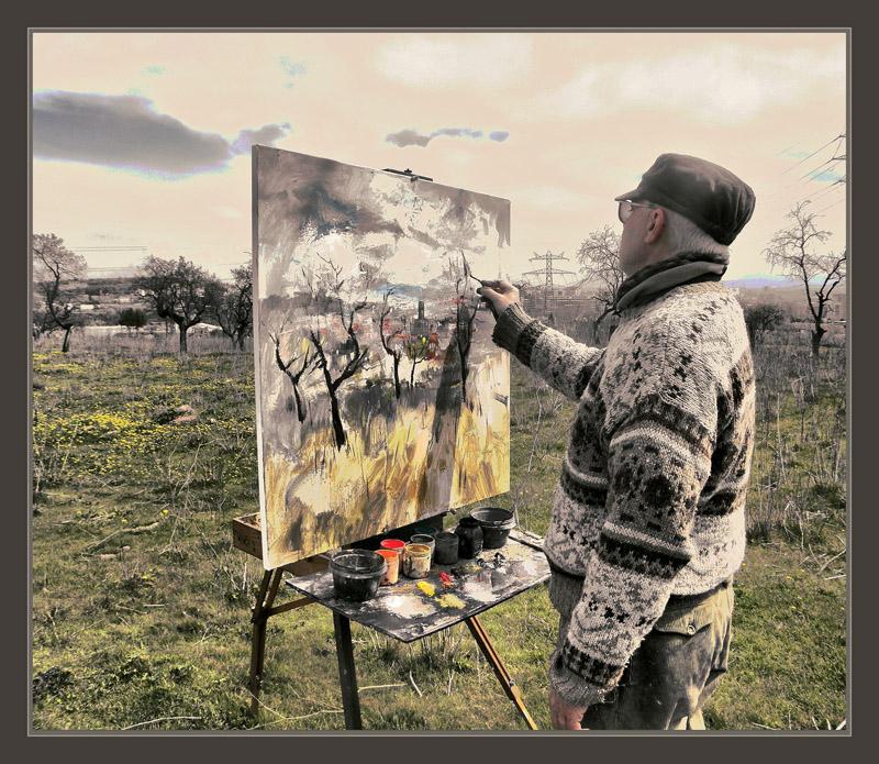 Ernest descals artista pintor pintura primavera pintar - Fotografias para pintar cuadros ...