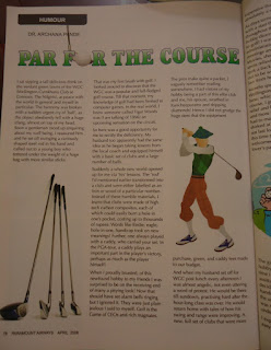 Golf, golf course, magazine