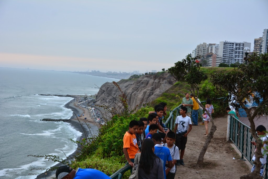 Lovers Parks Miraflores Lima