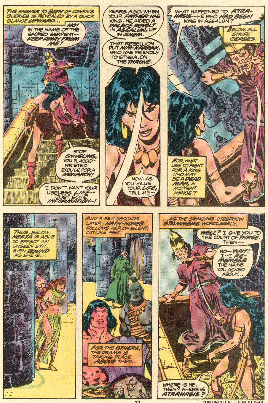 Conan the Barbarian (1970) Issue #88 #100 - English 14