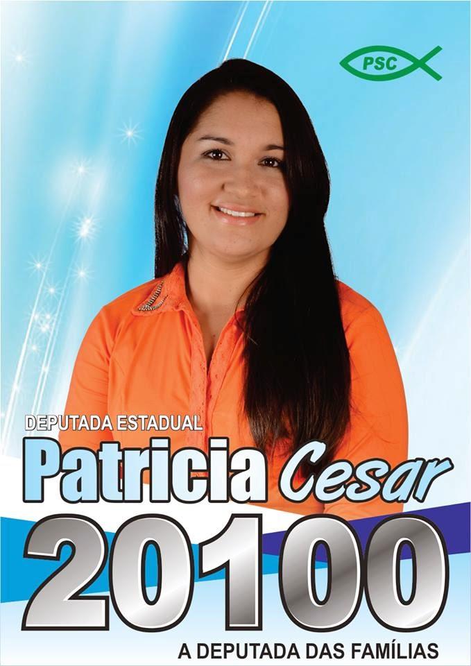 PATRICIA CÉSAR DEPUTADA ESTADUAL
