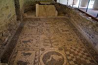 Mosaic in Teurnia near St-Peter-im-Holz carinthia