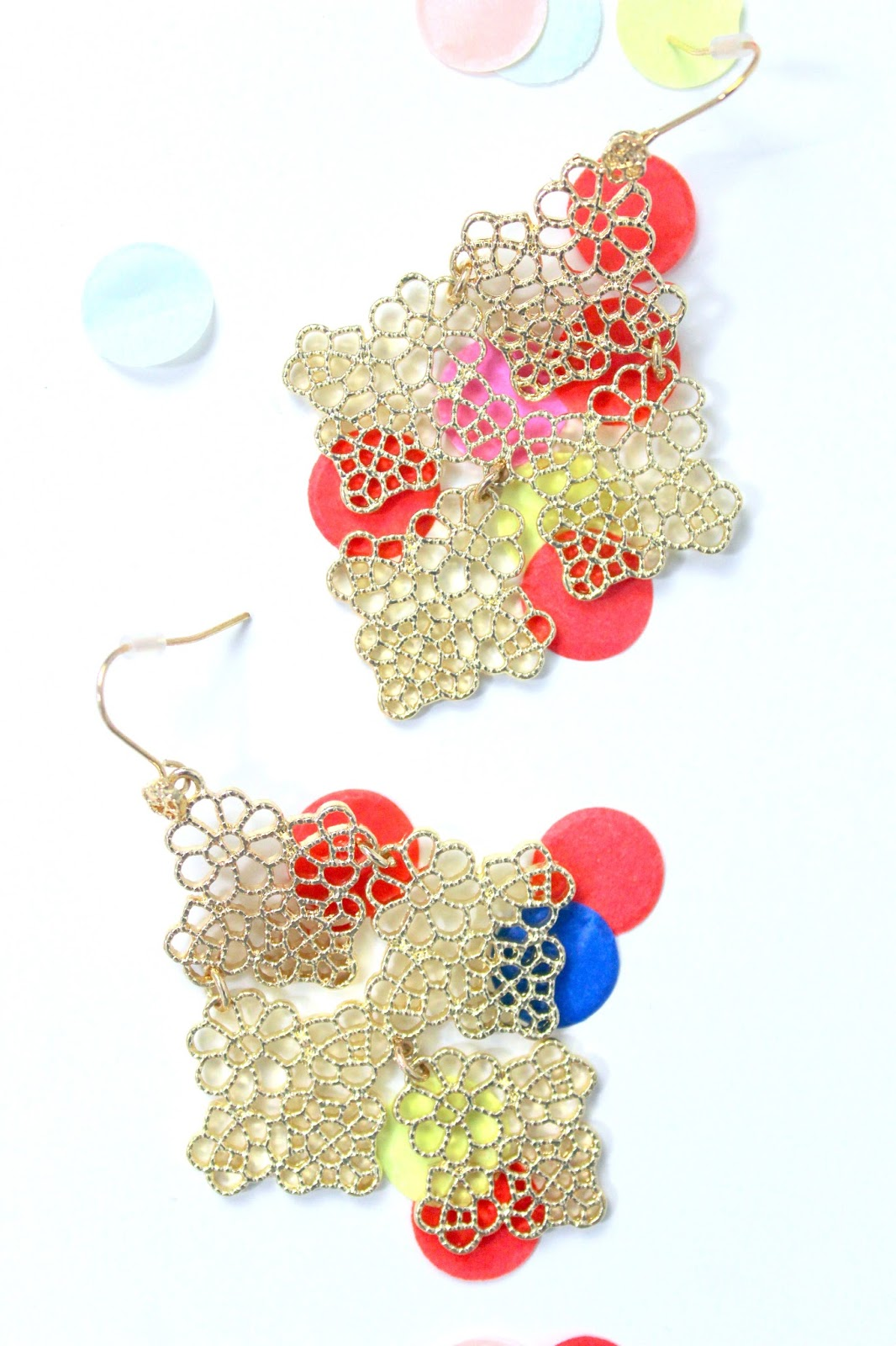 lace romantic earrings happiness boutique