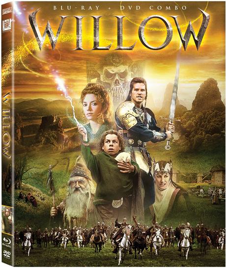 Caratula de Willow 25 aniversario en Blu-ray