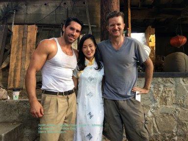 Actress Sheena Chou chats 'Savage Dog' and 'Black Salt'