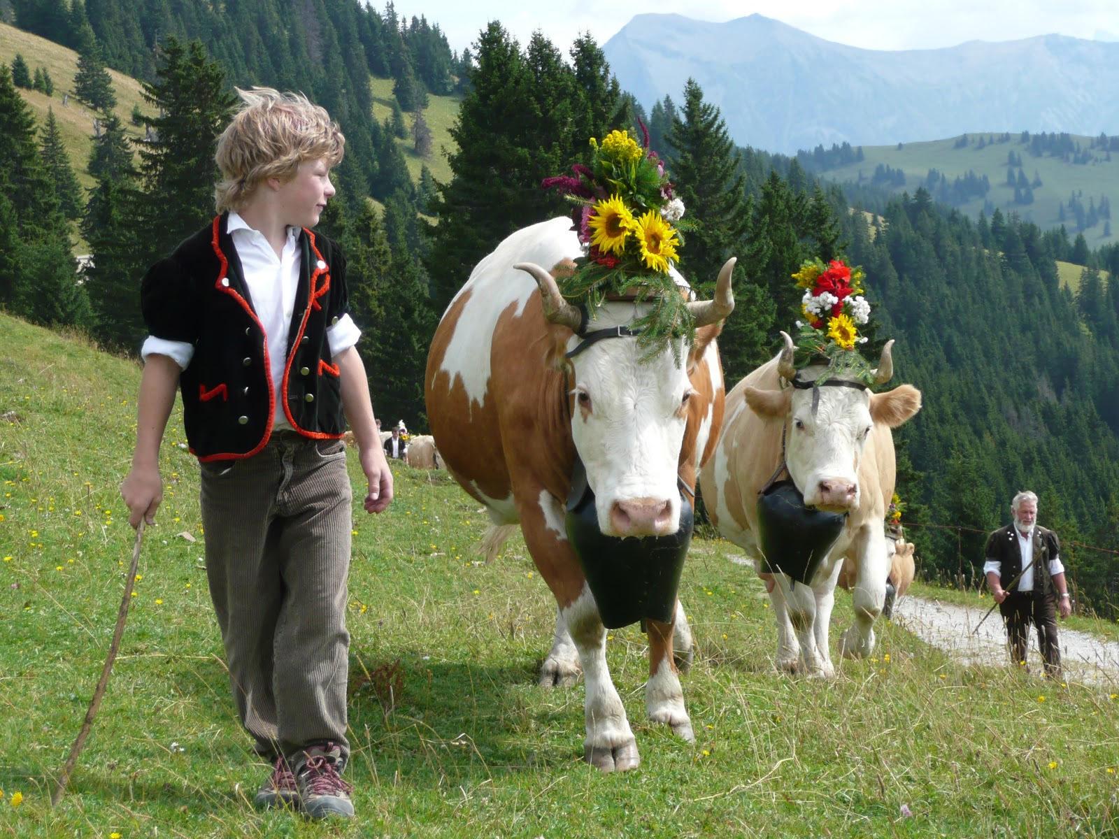'Züglete'—a must-see for families especially with children. Photo: Gstaad Saanenland Tourismus.