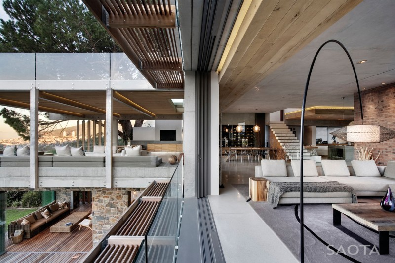 Incredible modern glen 2961 house by saota cape town for Incredible house designs
