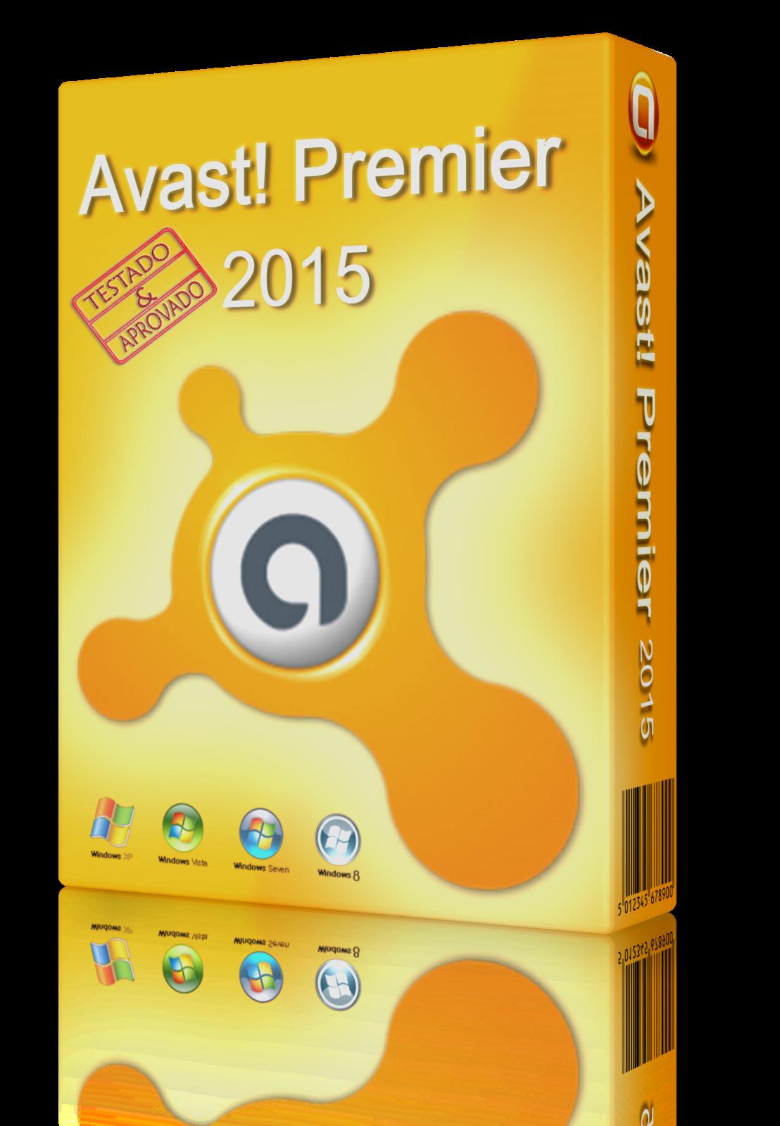 Capa Avast! Premier 2015 Torrent
